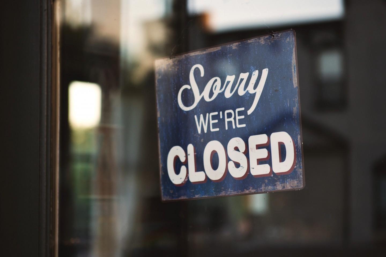 当サロンの臨時休業のお知らせ_sorry we're closed